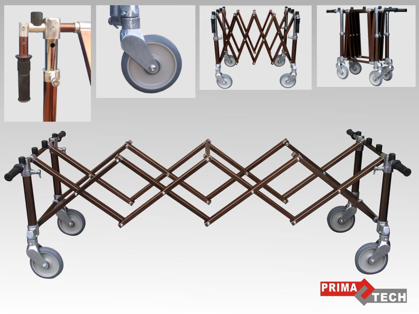 vozík bronzový
